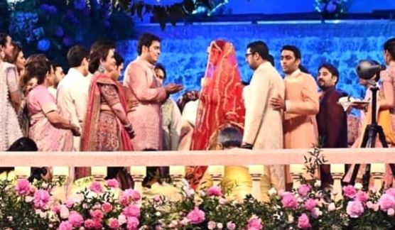 shloka mehta akash ambani wedding photos