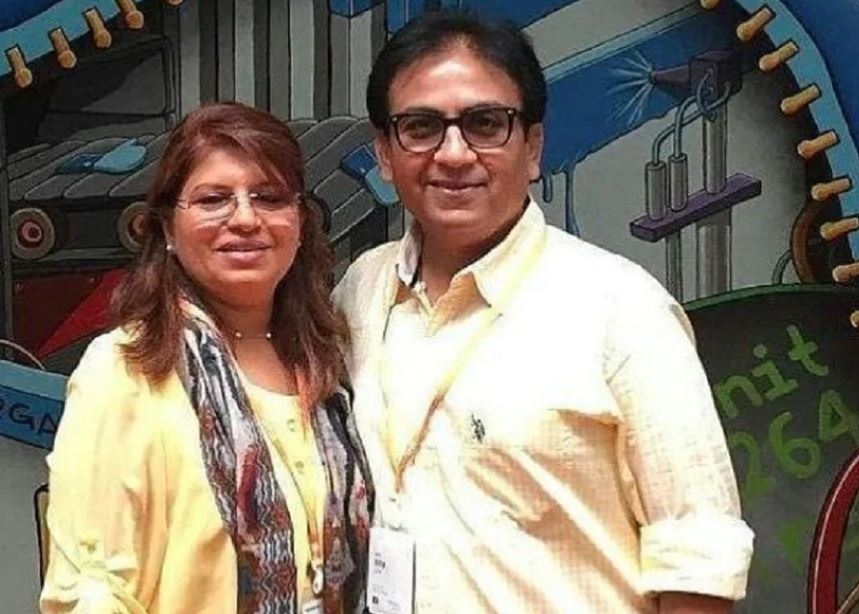This image has an empty alt attribute; its file name is dilip-joshi-wife.jpg
